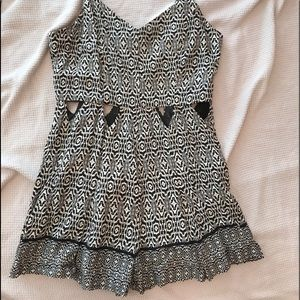 Other - Mid drift cut-out romper
